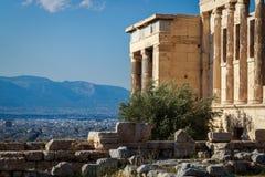 The acropolis of Athens Stock Photos