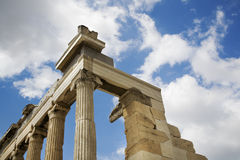 Acropolis athens Royalty Free Stock Image