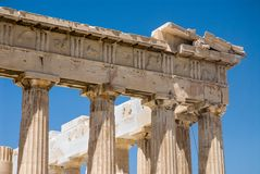 Acropolis of Athens Stock Photography