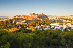 Acropolis in Athens. Stock Images