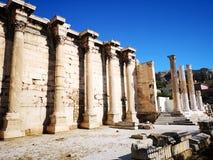 acropolis athens greece royaltyfria foton