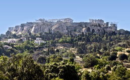 The Acropolis of Athens in Greece Royalty Free Stock Photos