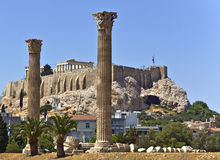 Acropolis at Athens, Greece Stock Photo