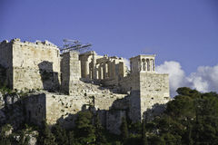 Acropolis in Athens,Greece Stock Image