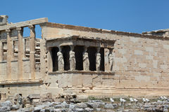 The Acropolis, Athens - Greece Royalty Free Stock Photo