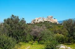 Acropolis , Athens - Greece Royalty Free Stock Image
