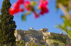 Acropolis at Athens, Greece Royalty Free Stock Photography