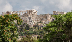 Acropolis Athens Greece Stock Photography