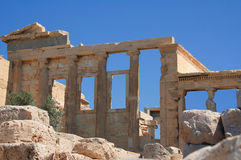 Acropolis, Athens, Greece Royalty Free Stock Photography