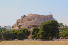 The Acropolis of Athens, Greece Royalty Free Stock Image