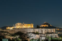 Acropolis of Athens, Greece Stock Image
