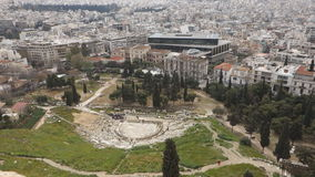 Acropolis in Athens stock video footage