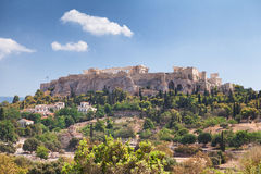 Acropolis in Athens, Greece Stock Images