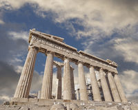 Acropolis of Athens Greece, Parthenon ancient temple Royalty Free Stock Photo