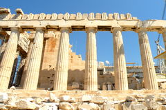 Acropolis of Athens, Greece. Royalty Free Stock Photos