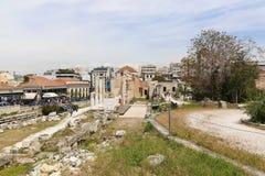 Acropolis of Athens Stock Image