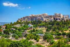 Acropolis in Athens, Greece Royalty Free Stock Photography