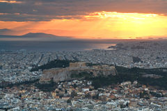 Acropolis, Athens, Greece. Royalty Free Stock Photography
