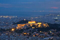Acropolis, Athens, Greece. Royalty Free Stock Photos