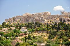 The Acropolis of Athens Royalty Free Stock Images