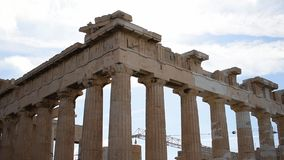 Acropolis of athens HD stock video footage