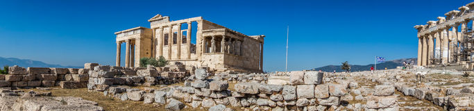 Acropolis in Athens Royalty Free Stock Image