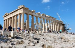 Acropolis of Athens, Parthenon  Stock Photos