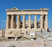 Acropolis of Athens, Parthenon Royalty Free Stock Images