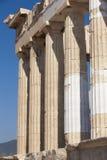 Acropolis of Athens. Parthenon columns. Greece Royalty Free Stock Images