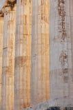 Acropolis of Athens. Parthenon columns. Greece Royalty Free Stock Photos