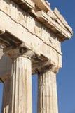 Acropolis of Athens. Parthenon frieze. Greece Stock Photography