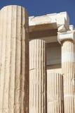Acropolis of Athens. Peisistratus Portico. Greece Stock Photo