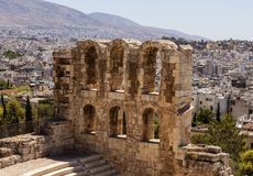 Acropolis, Athens. Scene from part of Acropolis, Athens, Greece royalty free stock image