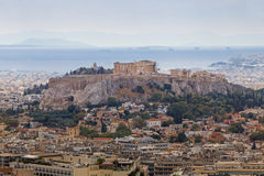 The Acropolis of the Athens Stock Photo