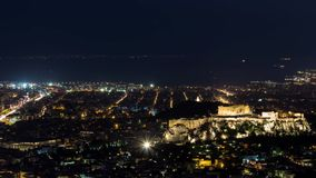 Acropolis of Athens stock video