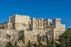 Acropolis. Athens view from acropolis 2016 Royalty Free Stock Image