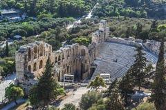 Acropolis. Athens view from acropolis 2016 Stock Photo