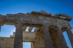 Acropolis. Athens view from acropolis 2016 Royalty Free Stock Photos