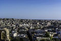 Acropolis. Athens view from acropolis 2016 Stock Image