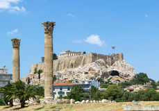 Acropolis of Athens Royalty Free Stock Photos