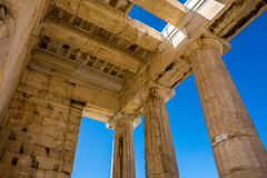 Acropolis in Athens Royalty Free Stock Photo