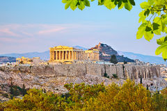 Acropolis in Athens Royalty Free Stock Images