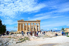 Acropolis of Athens Stock Photo