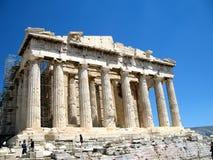 Acropolis av Athens, Grekland arkivbild