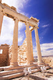 Acropolis with blue sky on the background. Athene, Greece - 20.04.2016. Royalty Free Stock Photos