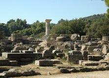 Acropolis da Olympia Foto de Stock Royalty Free