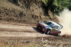 Acropolis da reunião de 2011 WRC Fotos de Stock Royalty Free
