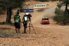Acropolis da reunião de WRC Imagem de Stock Royalty Free