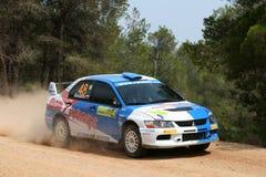 Acropolis da reunião de WRC Fotografia de Stock Royalty Free