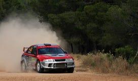Acropolis da reunião de WRC fotografia de stock
